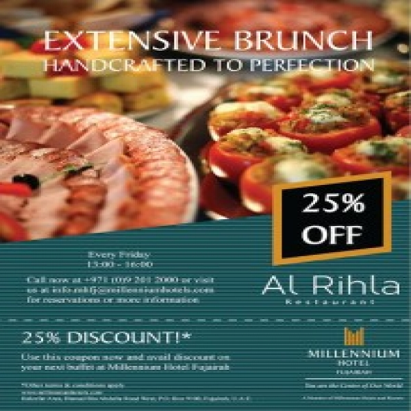Family Brunch outings at Millennium Hotel Fujairah