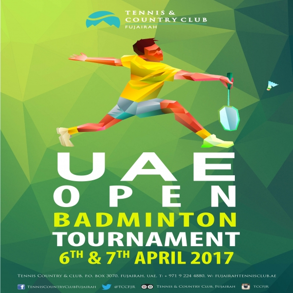 UAE open Badminton Tournament