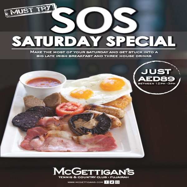 SOS Saturday special - Tennis and country club fujairah