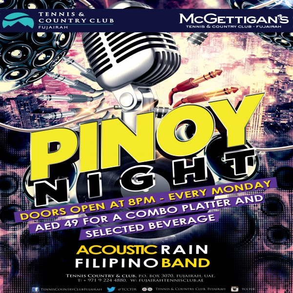 Pino Night - tennis and country club fujairah