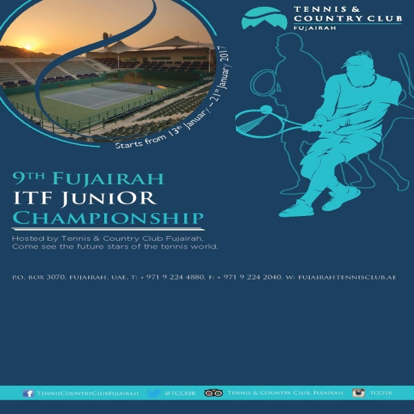 9th Fujairah ITF Junior Championship